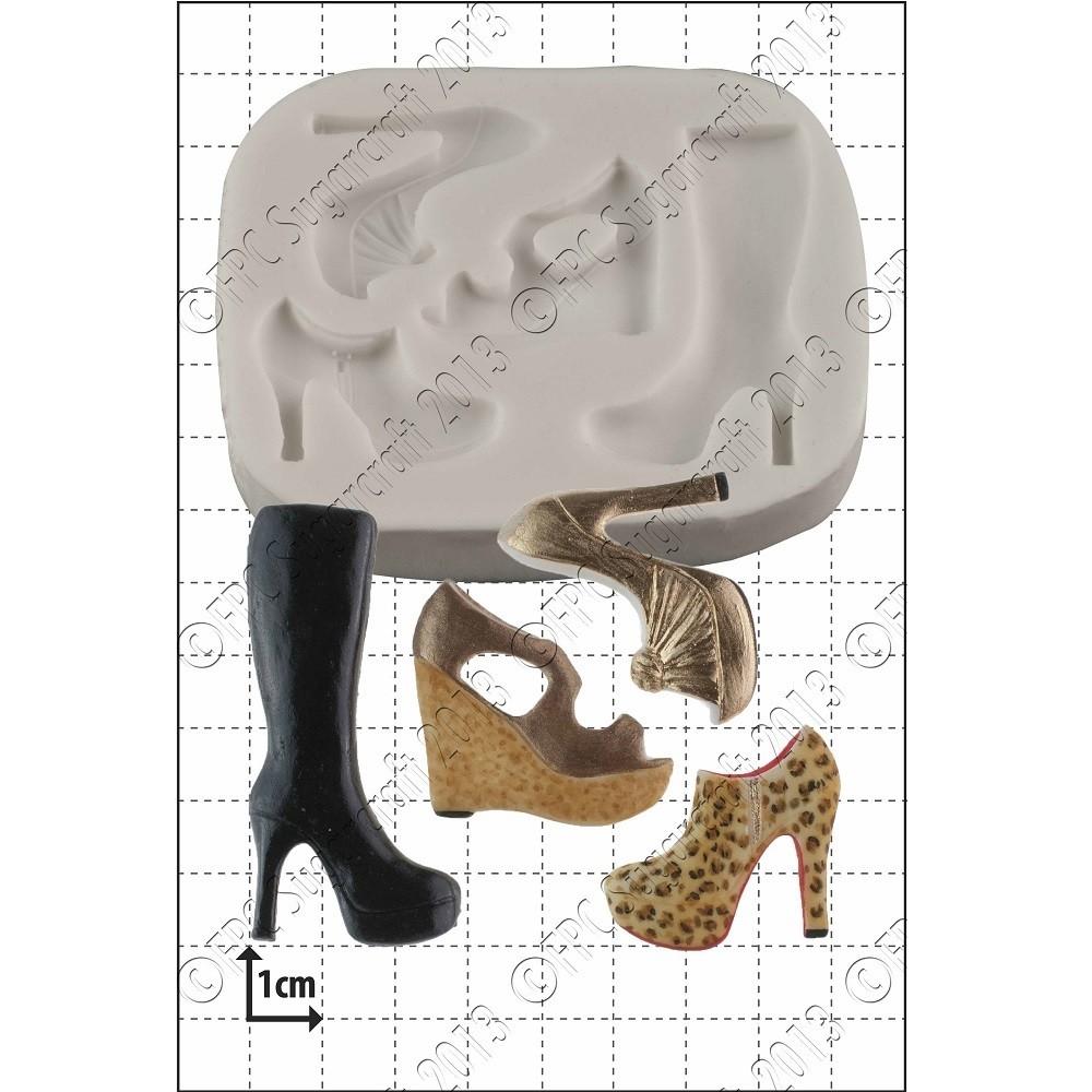 SALE!!! FPC -Silicone Mould -MULTI SHOE -Καλούπι Σιλικόνης Παπούτσια Διάφορα σχέδια