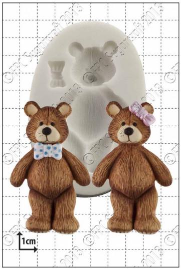FPC Silicone Mould -TEDDY BEAR -Καλούπι Σιλικόνης Αρκουδάκι