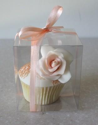 # Clear Cupcake Display Box -Διάφανο Κουτάκι για Cupcake 8εκ x 8εκ x 9εκ