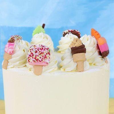 JEM Pop It Mould -ICE CREAM - Σετ 2τεμ καλούπι Παγωτό
