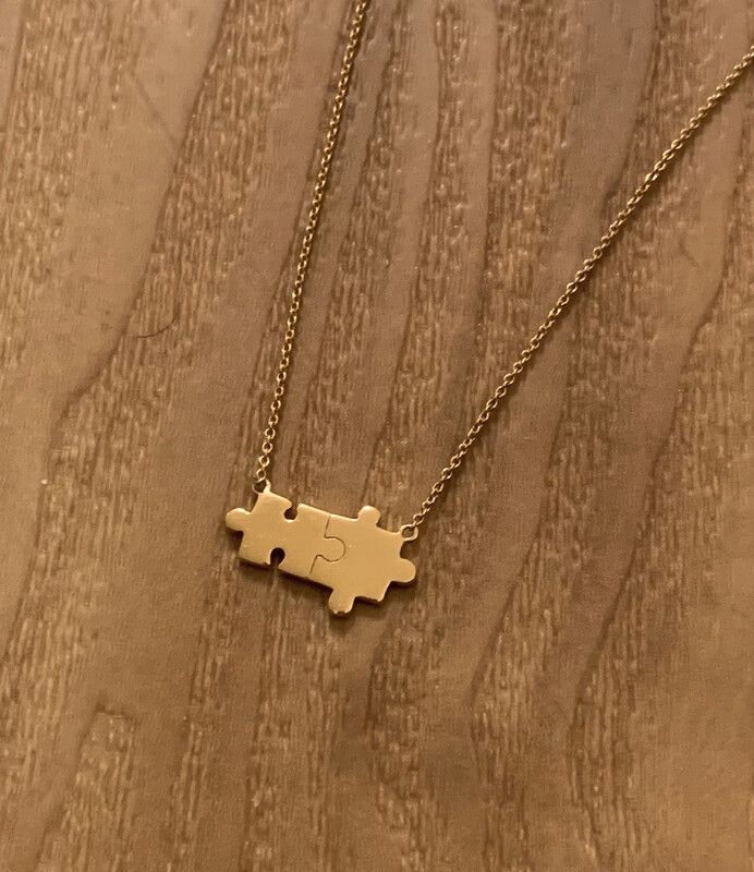 Perfect Fit Puzzle Necklace