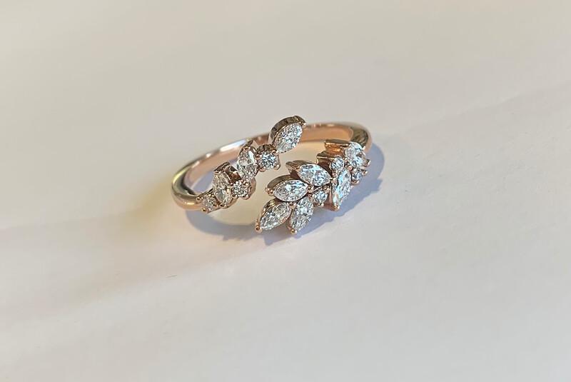 Arianna Bypass Diamond Ring
