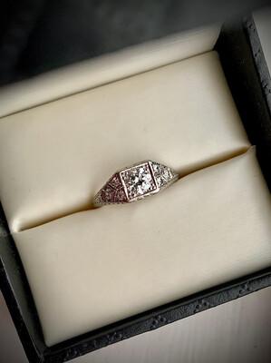 Satine Antique Engagement Ring
