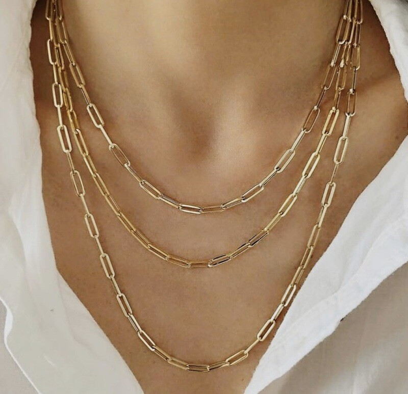Long Link Designer Chains