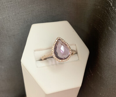 Madeline Amethyst Ring