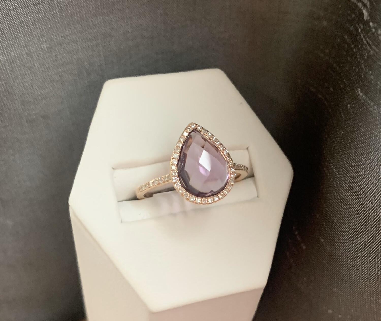 Madeline Amethyst Ring