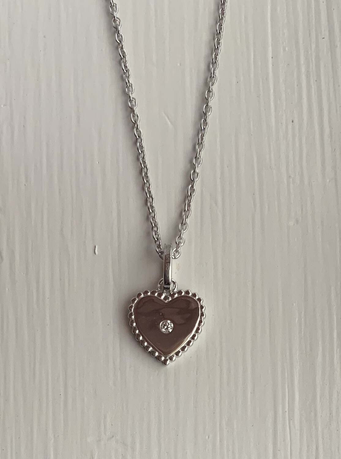 ALJ Signature Mini Heart Pendant