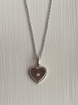 ALJ Signature Mini Heart Pendant