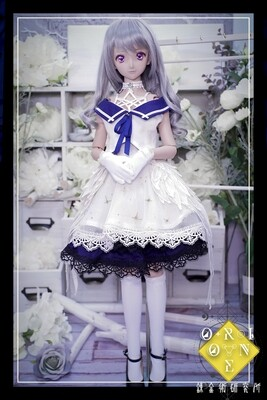 DD L Bust Outfits Set [THE MAGE] White