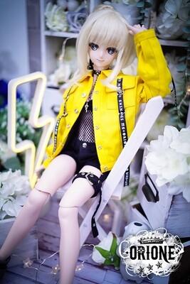 [DD S/M/L Bust] Maxine Denim Jacket - Yellow