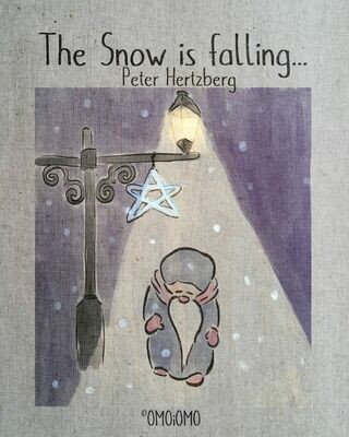 The Snow is Falling - Text-free Picture Book PDF (ENG/SWE/ESP/FiN)