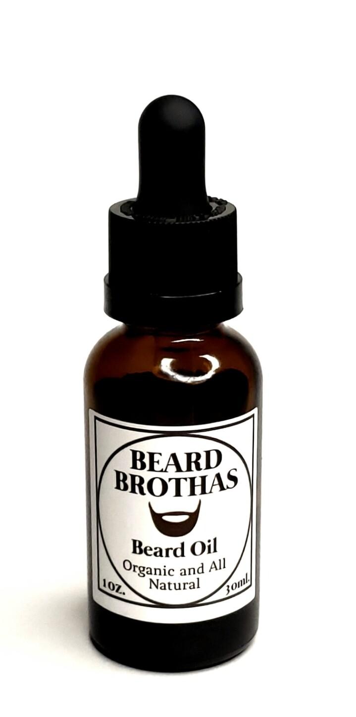 Beard Brothas Premium Organic Beard Oil. Classic Scent.