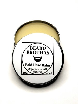 Premium Organic Bald Head Balm Moisturizer