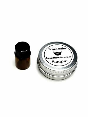Beard Oil and Beard Balm Sample