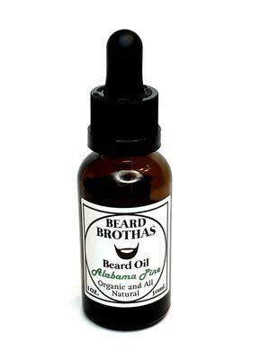 Organic Beard Oil Moisturizer. Alabama Pine Scent.