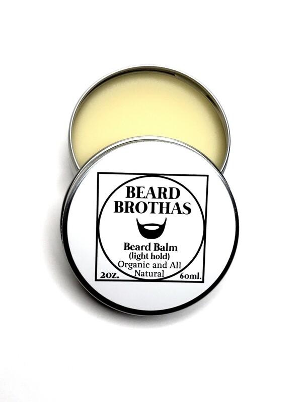 Beard Brothas Beard Balm Moisturizer. Classic Scent.