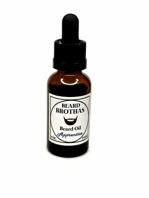 Beard Brothas Organic Beard Oil Moisturizer. Apprentice Scent.