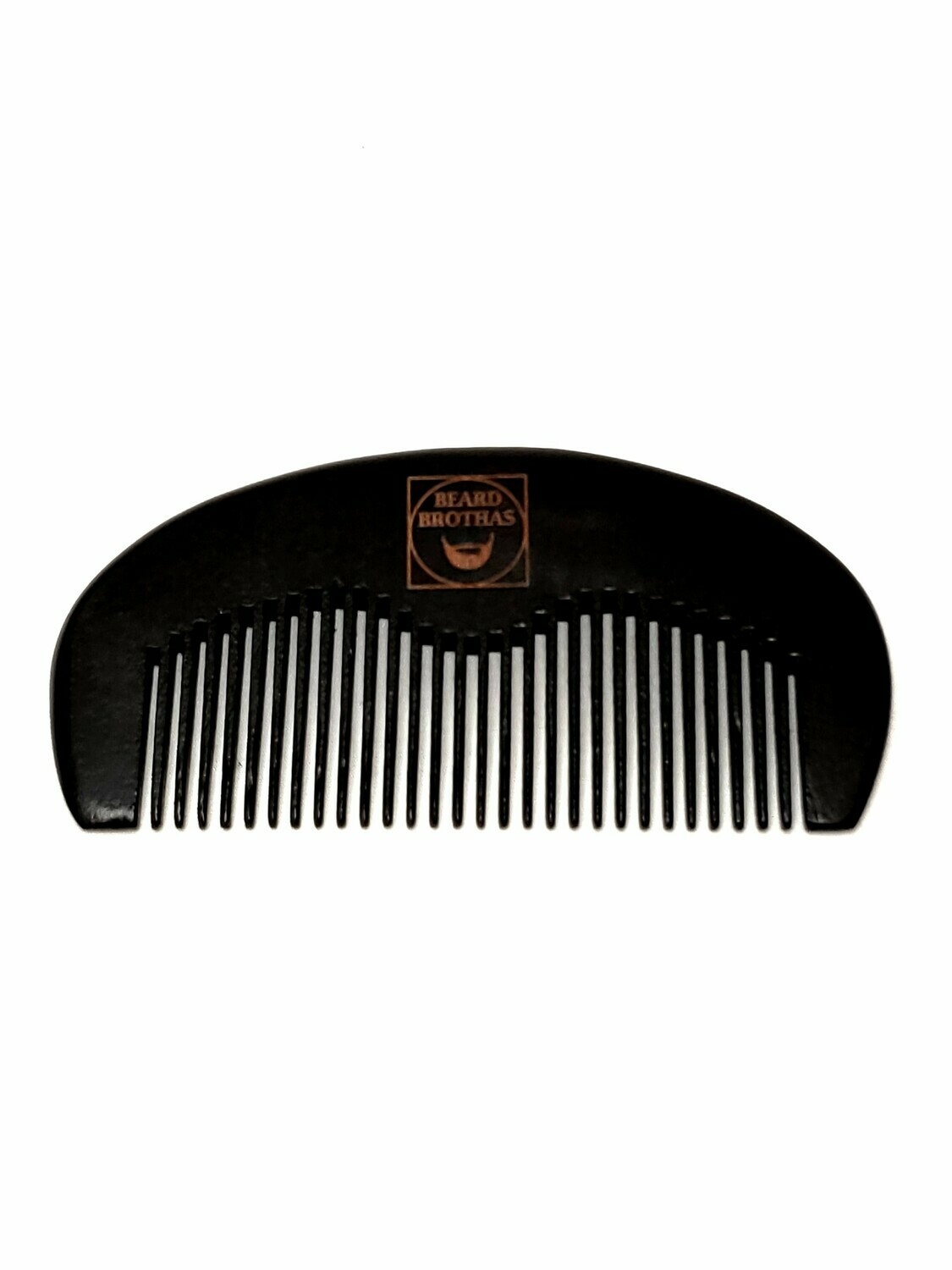 Beard Brothas Peach Wood Beard Comb