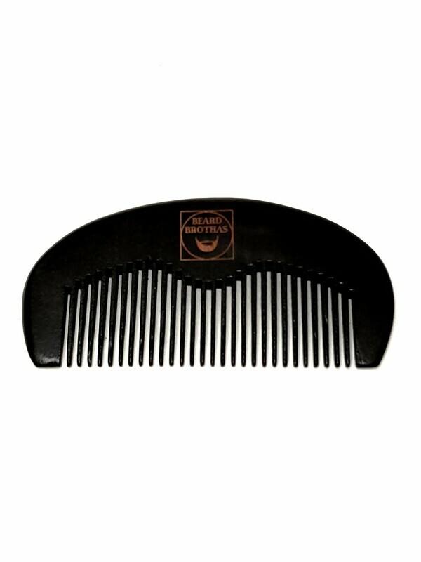 Beard Brothas Peach Wood Beard Comb