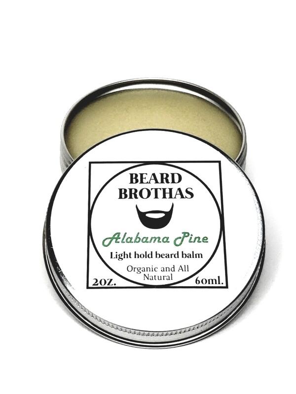 Beard Brothas Beard Balm Moisturizer. Alabama Pine Scent.