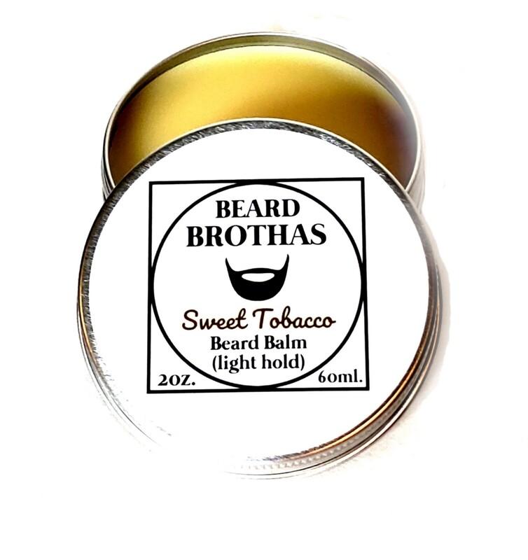 Beard Brothas Beard Balm Moisturizer. Sweet Tobacco Scent.