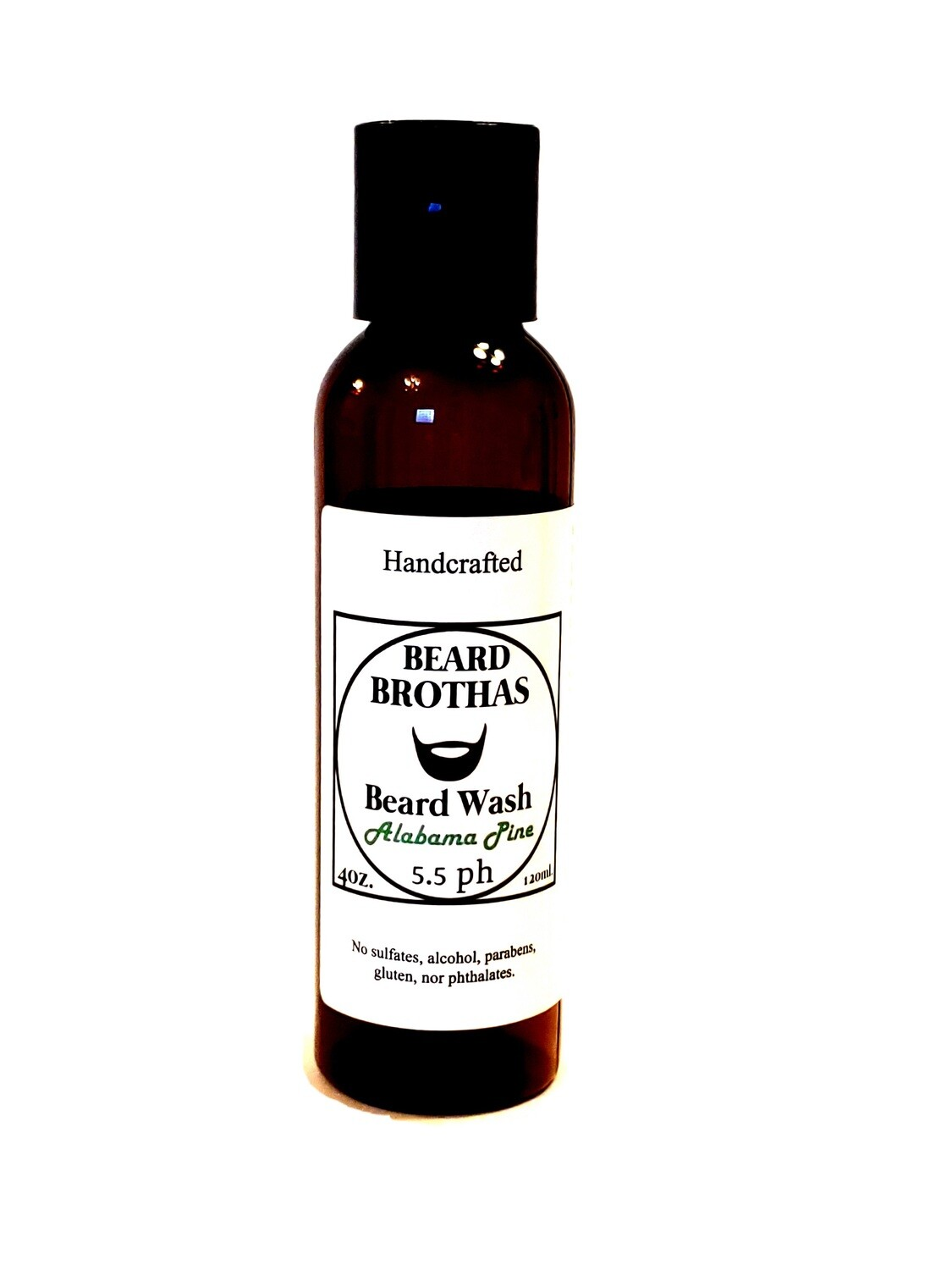 Beard Brothas Beard Wash. Sulfate Free. Alabama Pine Scent