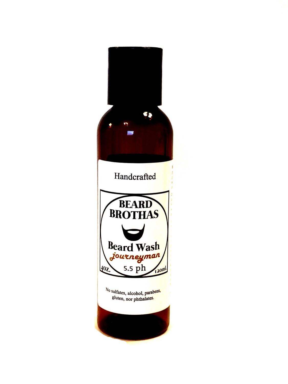 Beard Brothas Beard Wash. Sulfate Free. Journeyman Scent