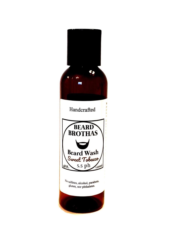Beard Brothas Beard Wash. Sulfate Free. Sweet Tobacco Scent