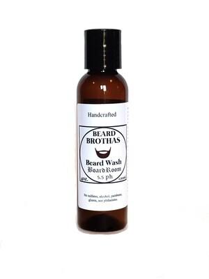 Beard Brothas Beard Wash. Sulfate Free. Board Room Scent.