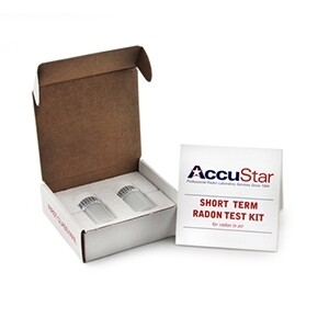 Accustar Radon Test Kit