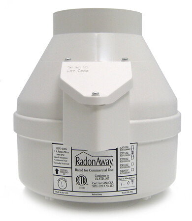 RadonAway XP151 Radon Mitigation Fan