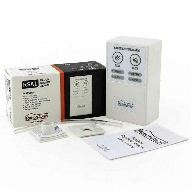 RadonAway RSA1 Radon Alarm