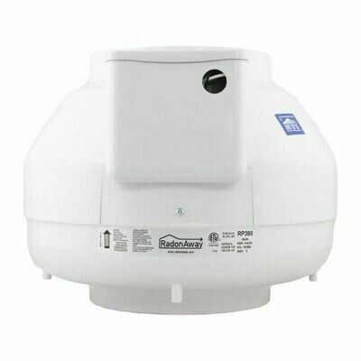 RadonAway RP380 Radon Mitigation Fan