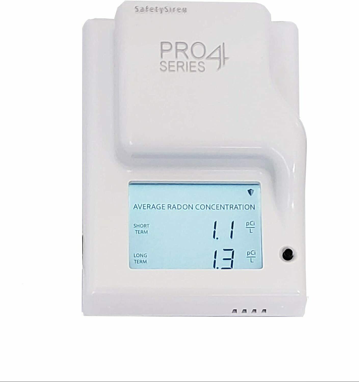 SafetySiren Pro Series 4 Radon Detector