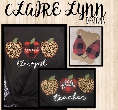 3 Custom Apples