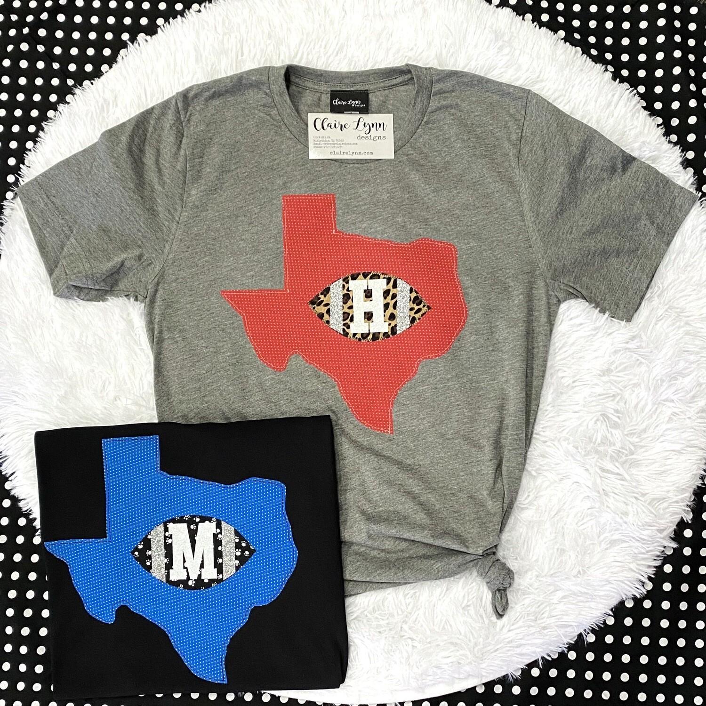 Hometown TX Football Shirt