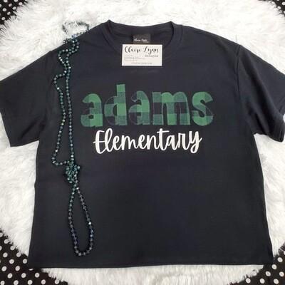 Adams Elementary Buffalo Plaid