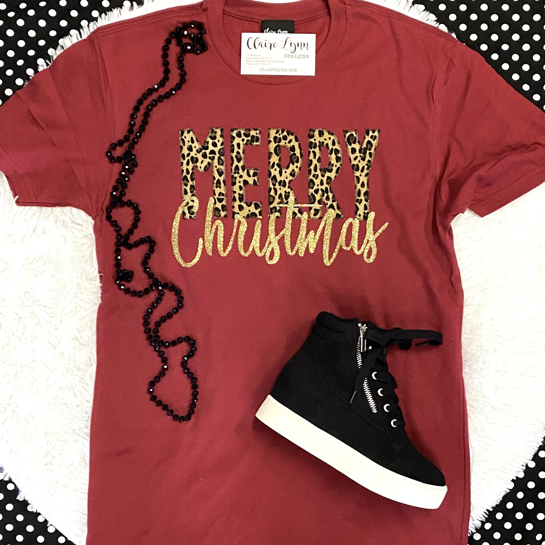 Cheetah Merry Christmas