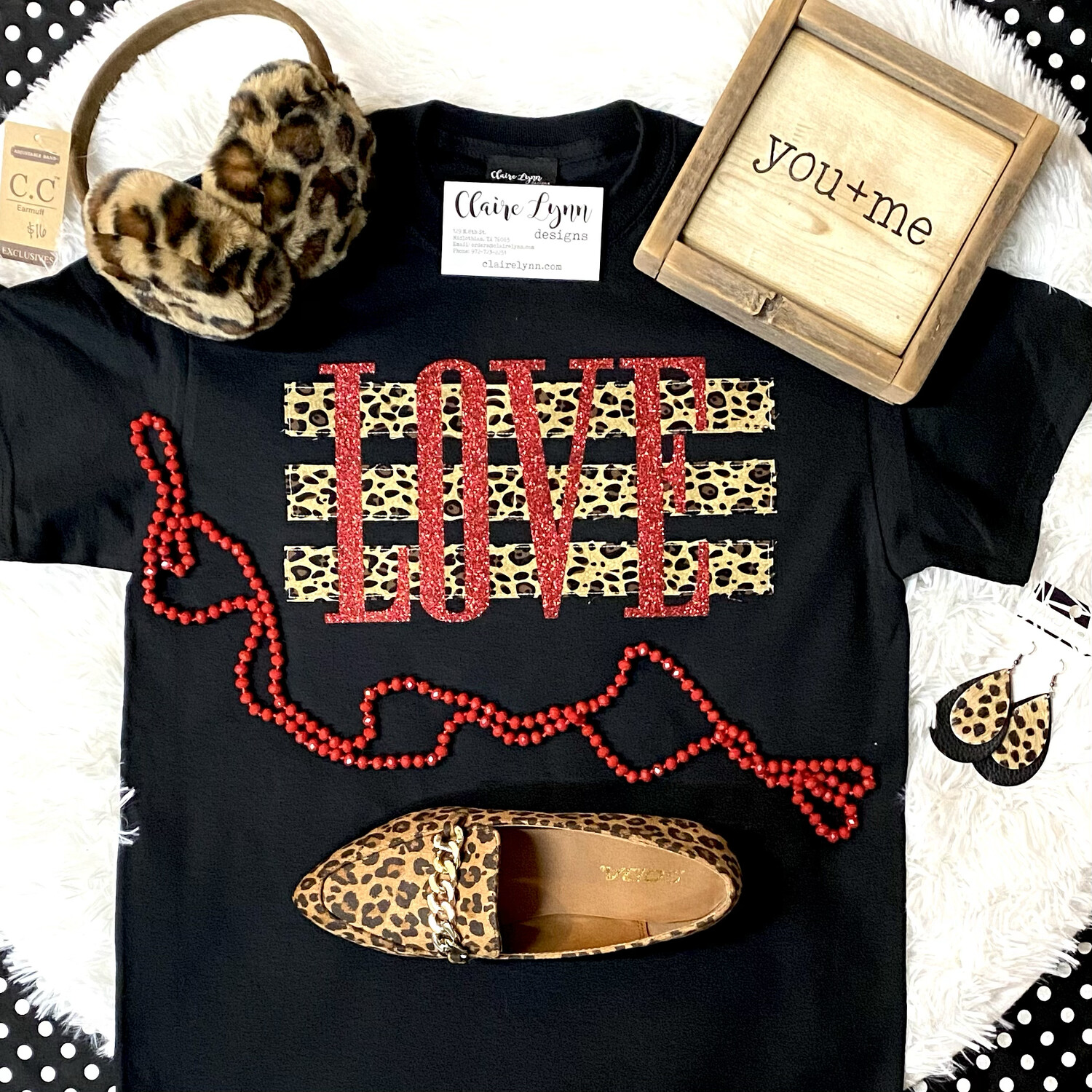 Cheetah And Red LOVE