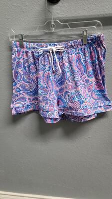 Paisley Lounge Shorts (S/M)