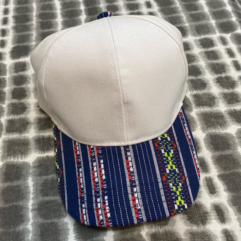Navy Sarape Hat