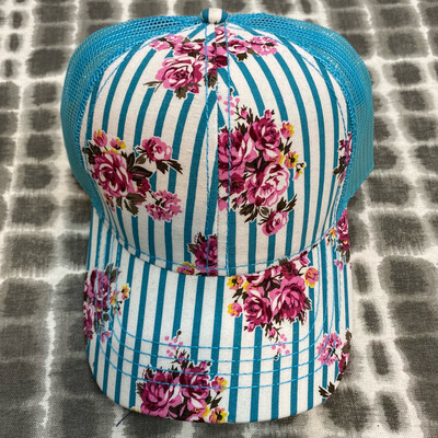 CC Floral Trucker Hat