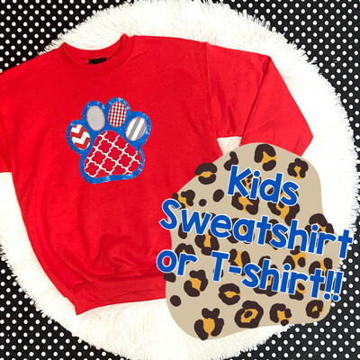 Custom Kids Paw
