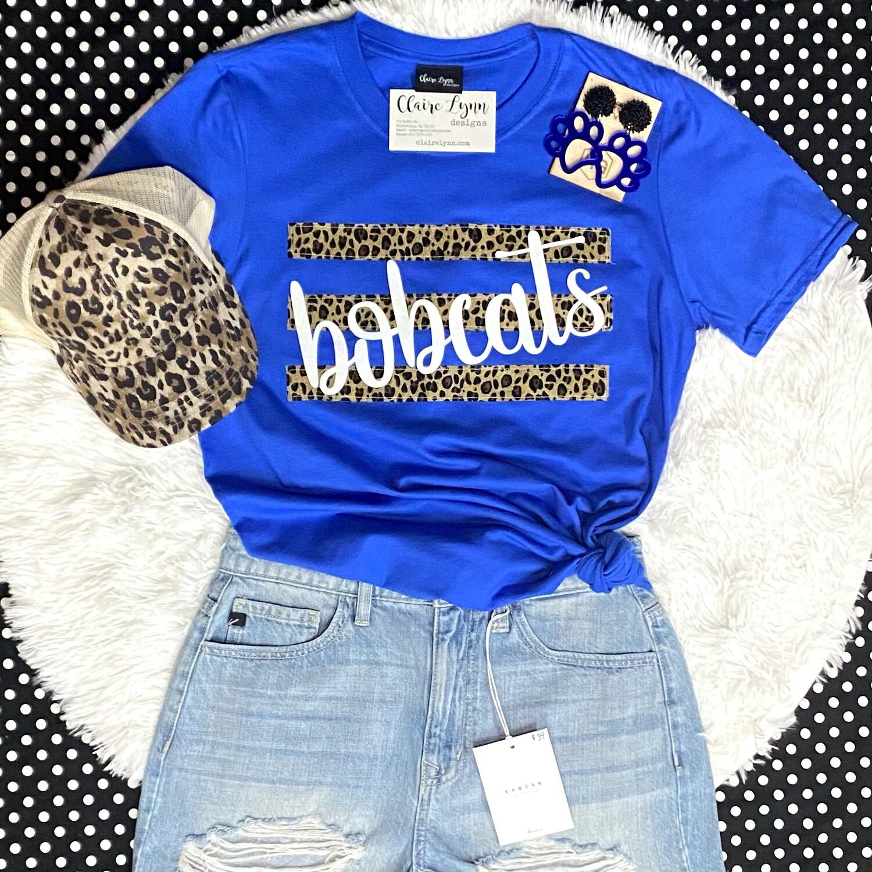 Cheetah Stripe Spirit Shirt