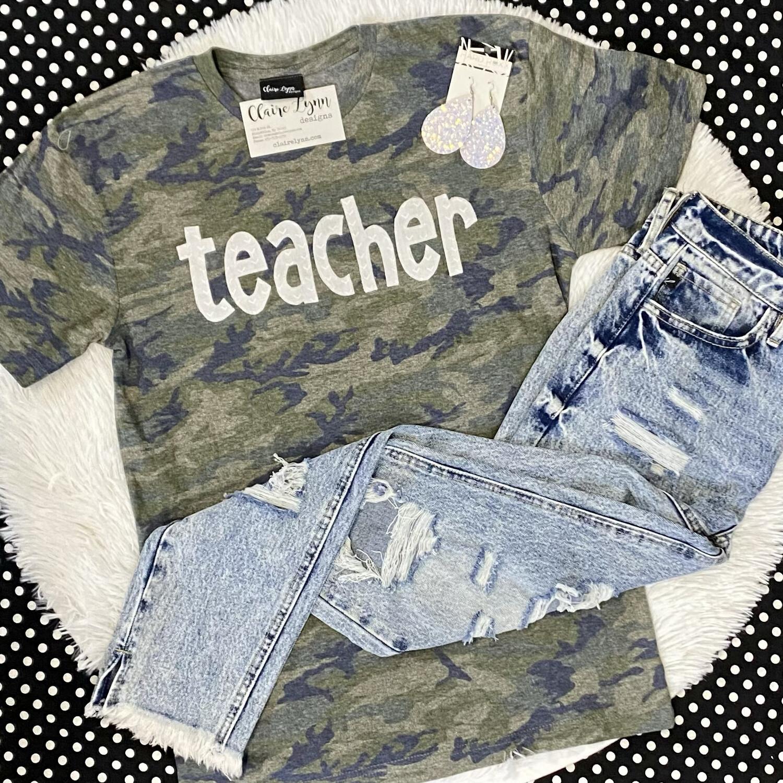 Camo Teacher