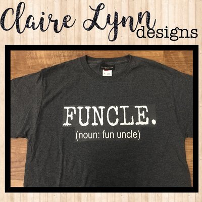 FUNCLE. (Fun uncle)