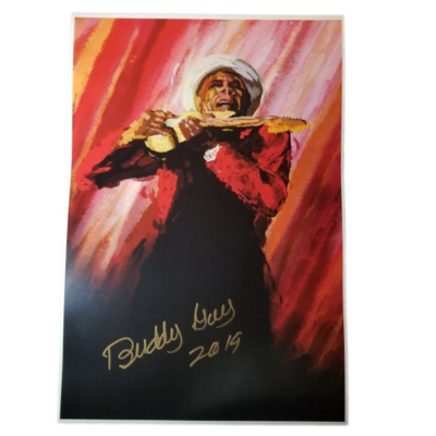 Digital Painting - Signed By Buddy Guy