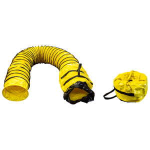 Yellow Ducting with Bag, 12