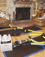 Injectidry HP Plus Floor Drying System