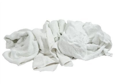Terry Towels, Recycled, Bulk, 25lb.